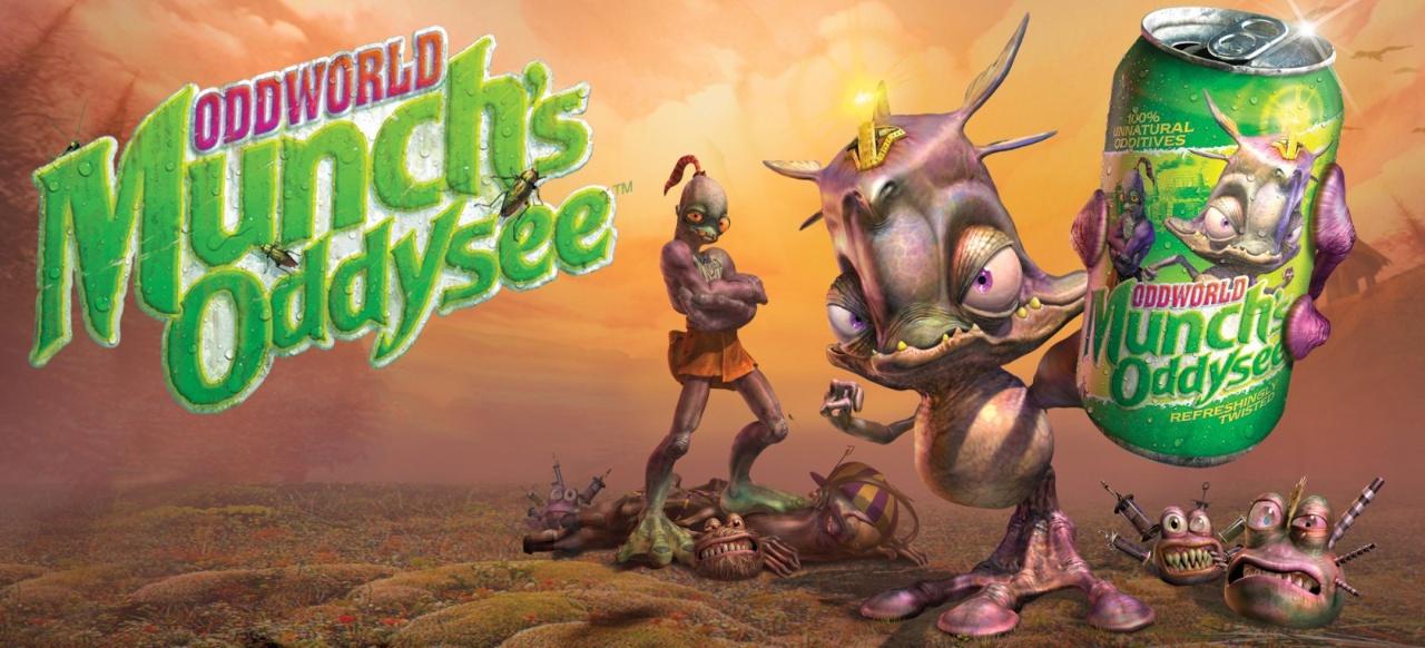 Oddworld: Munch's Oddysee (Action) von Infogrames / Atari / THQ /Microsoft