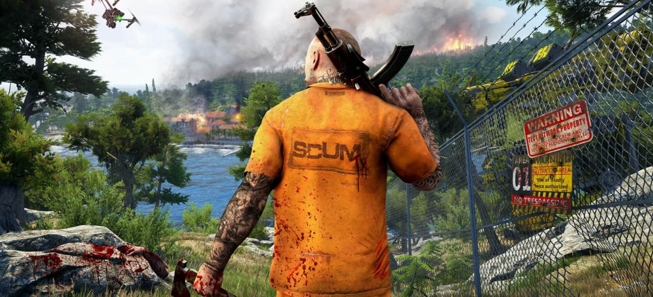 SCUM (Simulation) von Devolver Digital