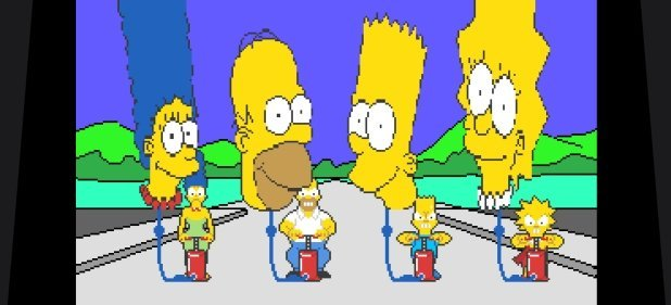 The Simpsons Arcade Game (Action) von Konami