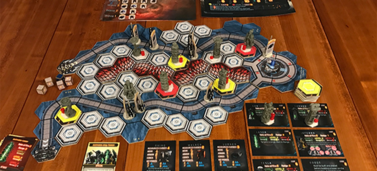 Defense Grid: The Board Game (Brettspiel) von Hidden Path Entertainment & Forged by Geeks LLC