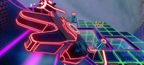 Neon-Action mit dem besonderen Dreh