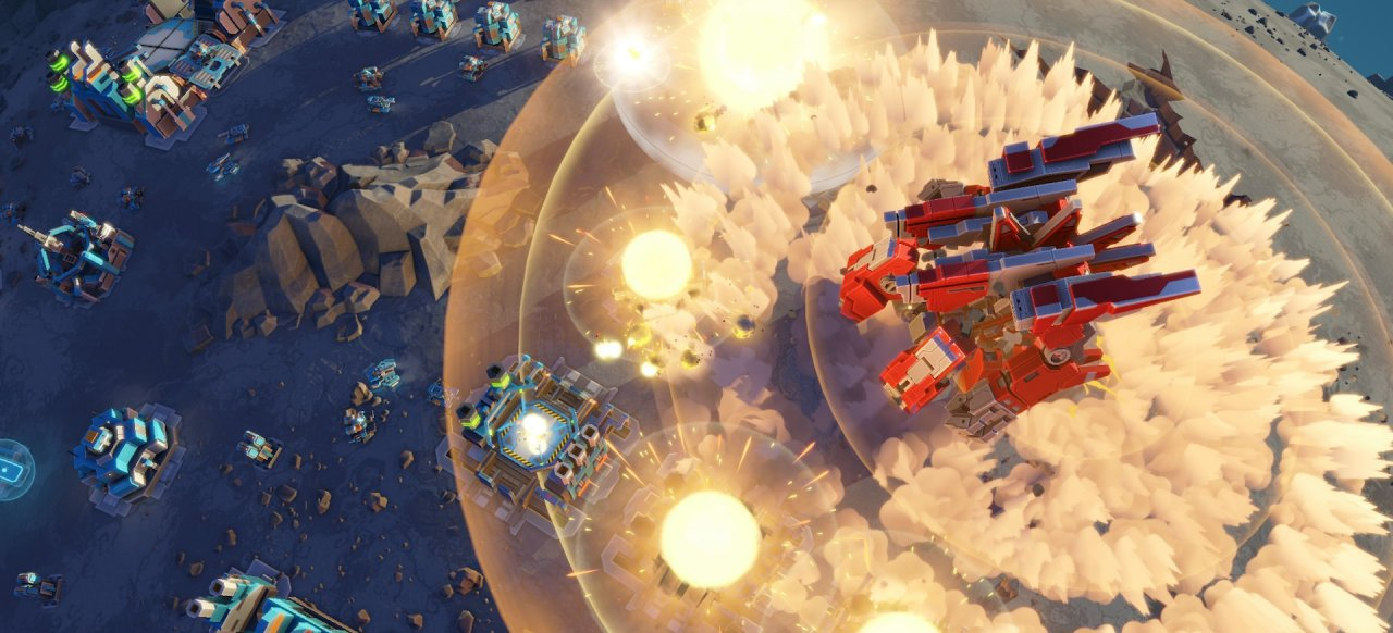 Planetary Annihilation: Titans (Strategie) von