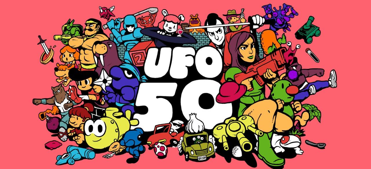 UFO 50 (Geschicklichkeit) von Mossmouth Games