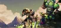 """SteamWorld Quest: Hand of Gilgamech: Switch-Rollenspiel mit """"Lochkarten"""" und Steampunkrobotern"""