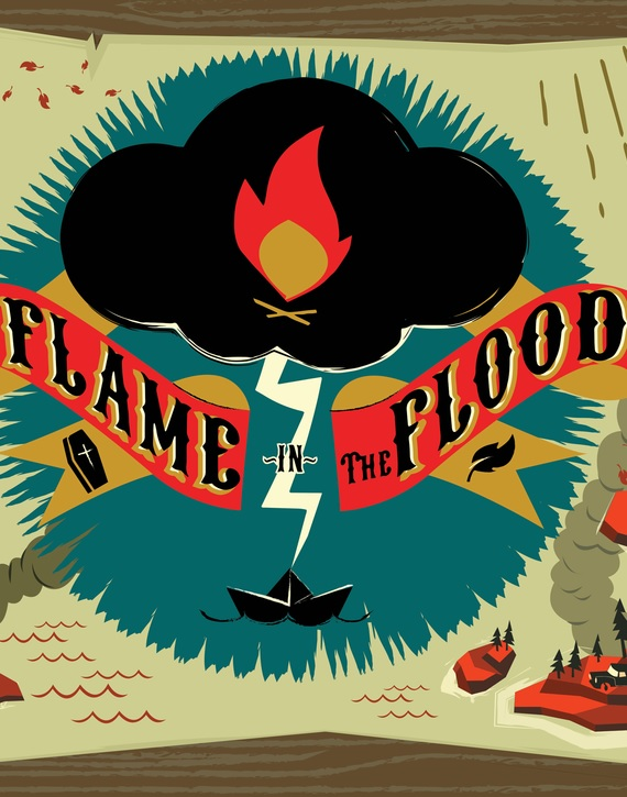 Alle Infos zu The Flame in the Flood (PlayStation4)