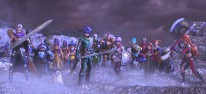 Dragon Quest Heroes 2: Fernkampfexpertin Maribel und Wolfsjunge Ruff in Aktion