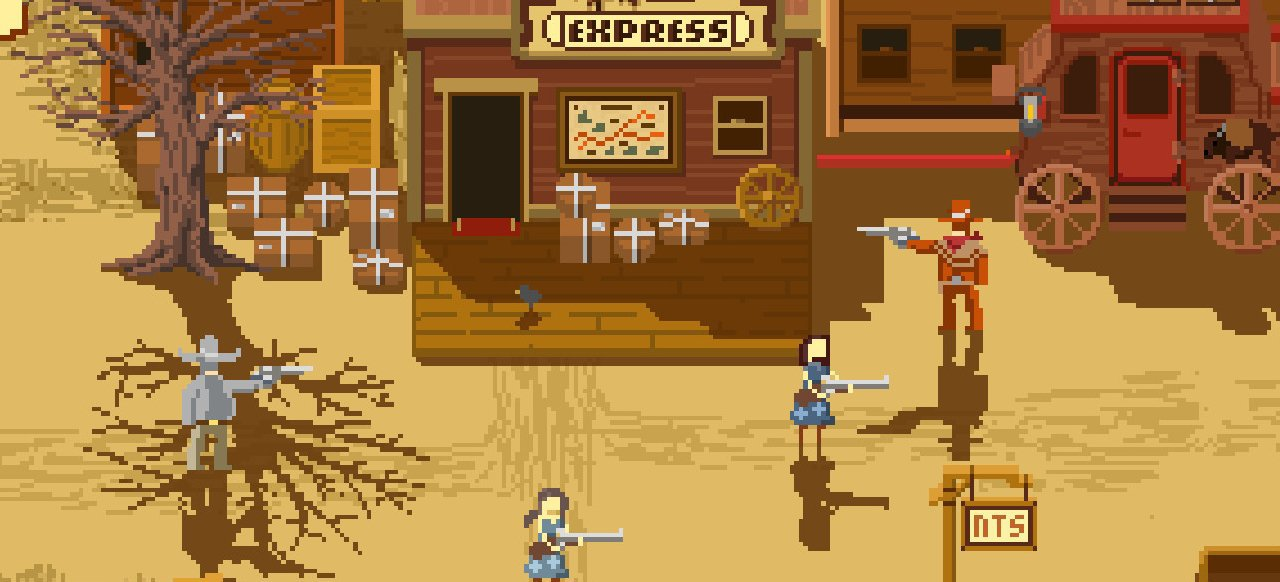 Westerado: Double Barreled (Action) von Adult Swim Games