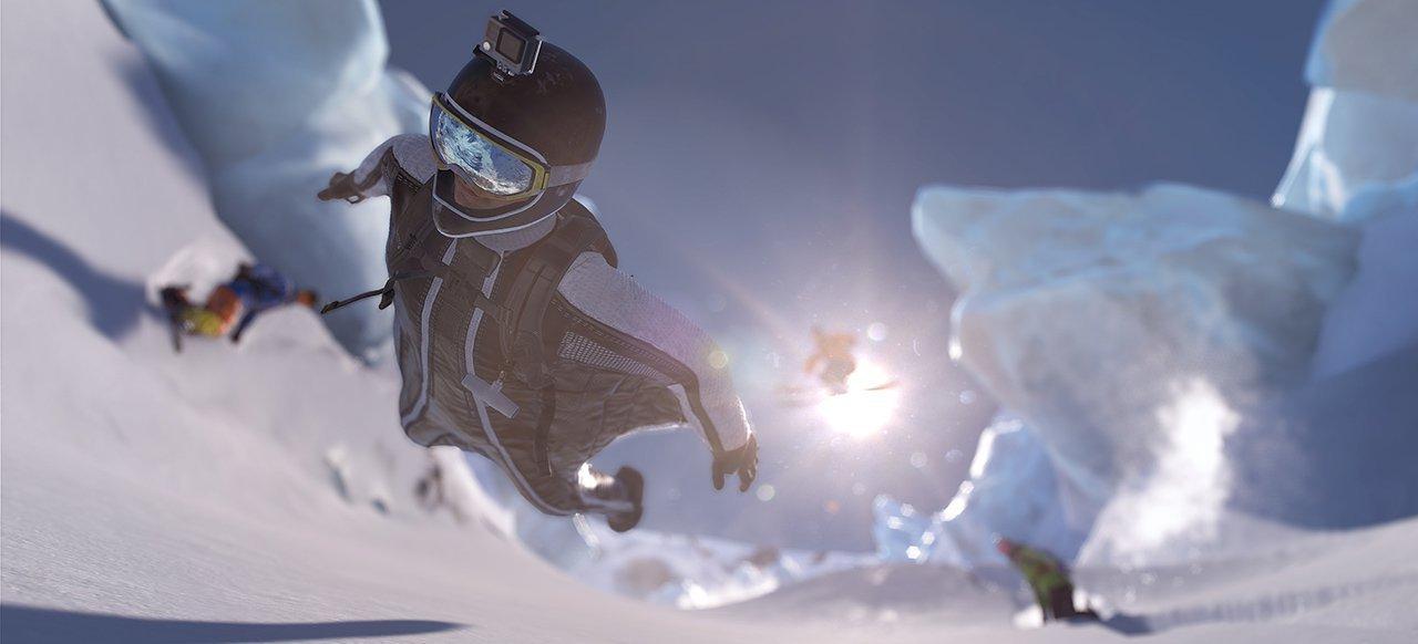 Auf Spielspaß-Suche in den verschneiten Alpen