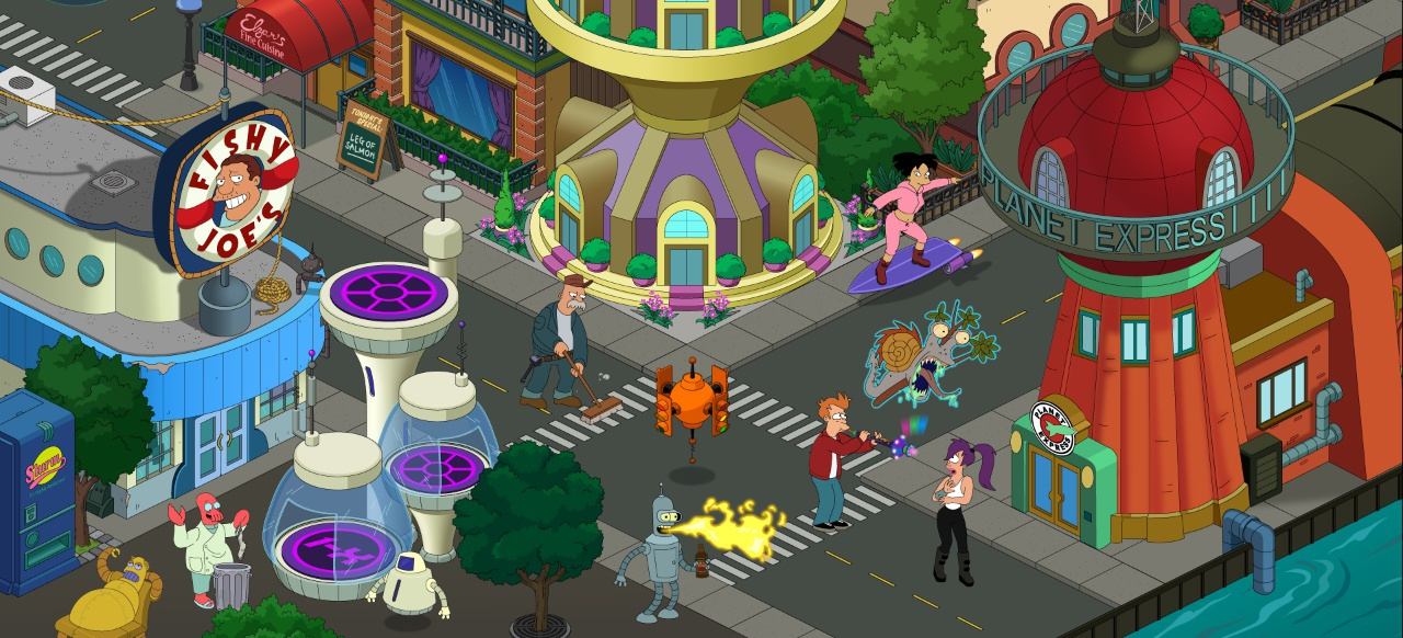 Futurama: Worlds of Tomorrow (Action) von FoxNext Games
