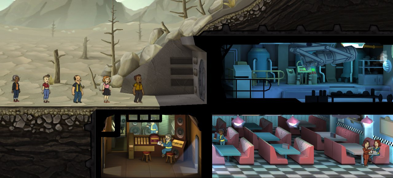 Fallout Shelter (Strategie) von Bethesda Softworks