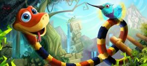 Schlangensimulator mit Arcade-Flair
