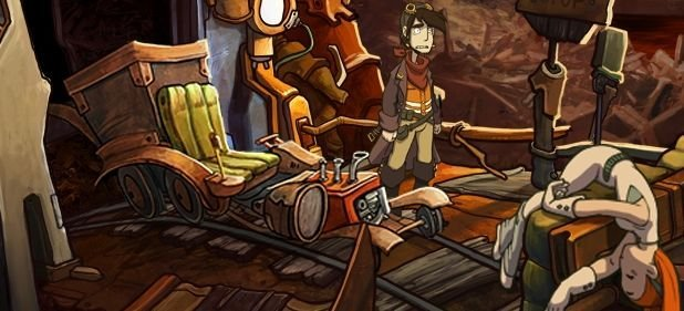 Deponia (Adventure) von Daedalic Entertainment