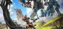 E3-Pr�sentation mit Kampf- und Landschaftsszenen
