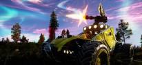 notmycar: PUBG trifft Twisted Metal: Battle-Royale-Fahrzeugkämpfe starten in die geschlossene Beta