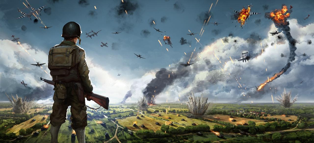 Hitzige Gefechte im Zweiten Weltkrieg