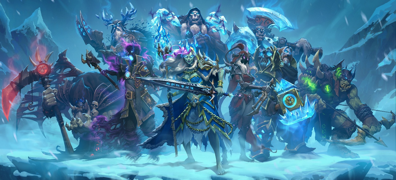 Hearthstone: Ritter des Frostthrons (Strategie) von Blizzard Entertainment