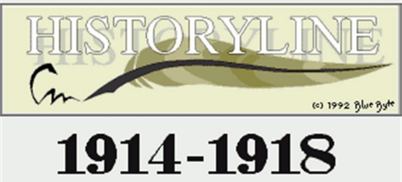History Line: 1914 - 1918 (Strategie) von Blue Byte