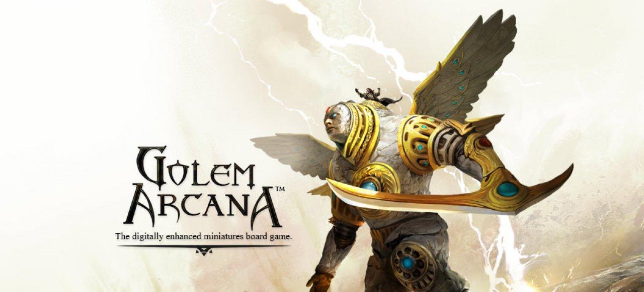 Golem Arcana (Brettspiel) von Harebrained Schemes / Pegasus Spiele