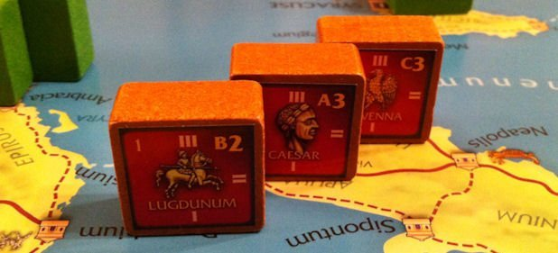 Julius Caesar (Brettspiel) von Columbia Games
