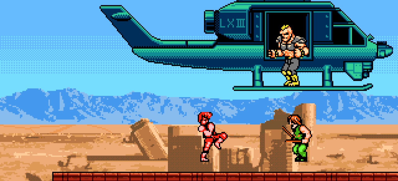 Double Dragon 4 (Action) von Arc System Works