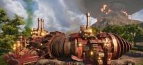 Volcanoids: Steampunk-Überlebenskampf mit Lavahöhlen und riesigen Maschinen startet im Early Access