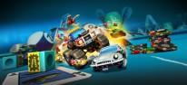Micro Machines World Series: Mit Miniflitzern durch Küchen, Gärten und Werkstätten auf PC, PS4 und Xbox One