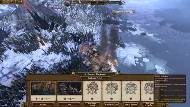 Norsca Kampagne mit Throgg