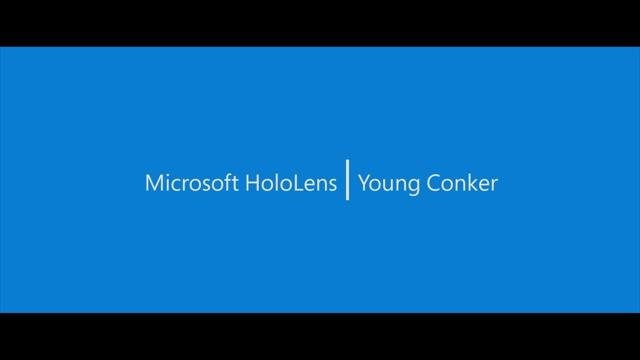 HoloLens: Der junge Conker