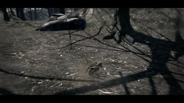 Waldläufer-Spielszenen