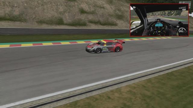 Eine Runde auf dem Circuit de Spa-Francorchamps