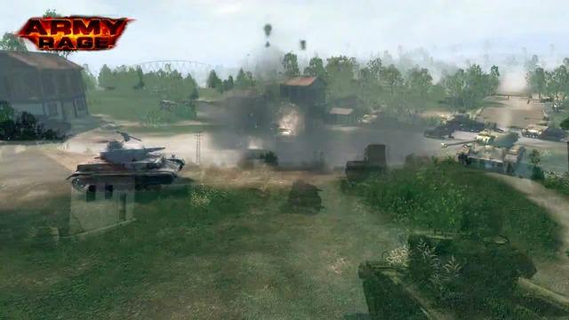 Tank Wars-Spielszenen