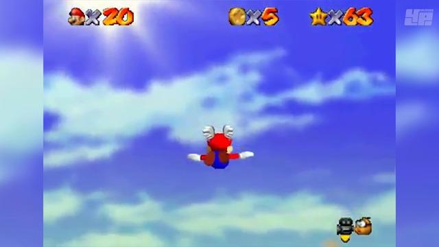3D-Marios im Wandel der Zeit