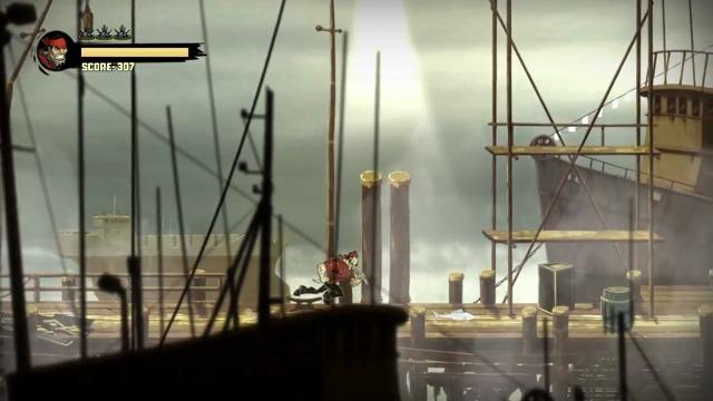 Docks-Spielszenen