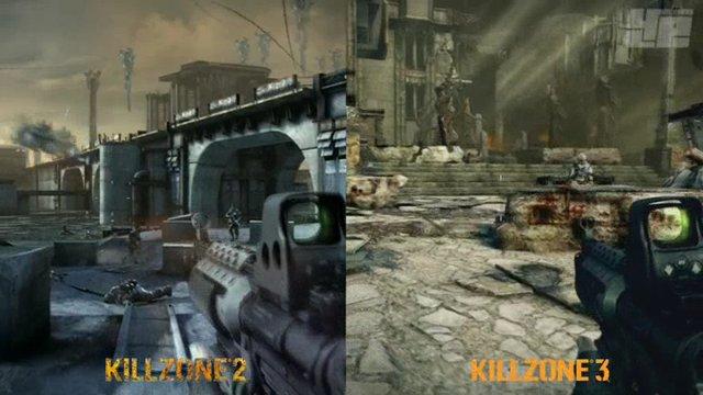 Killzone 2/3-Grafikvergleich