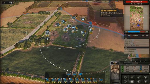 Spielszenen: Kampagne Mission 1