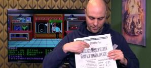 Jan hat die Zeitung aus Zak McKracken gefunden