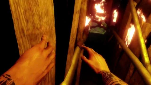 Burning Hotel-Spielszenen