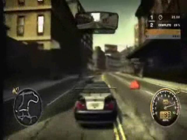 Gameplay (M3-Rennen)