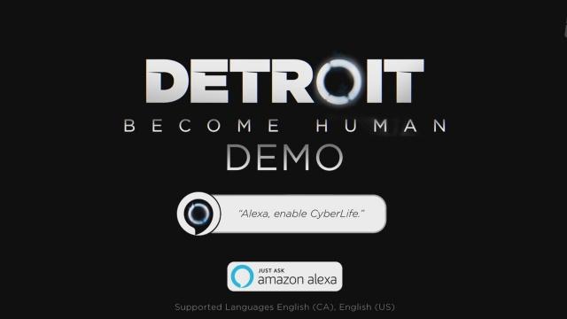 Alexa Cyber-Life-Demo