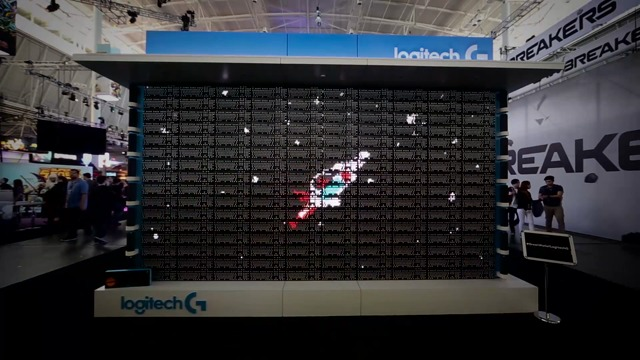 The Great Wall of Logitech G at PAX East