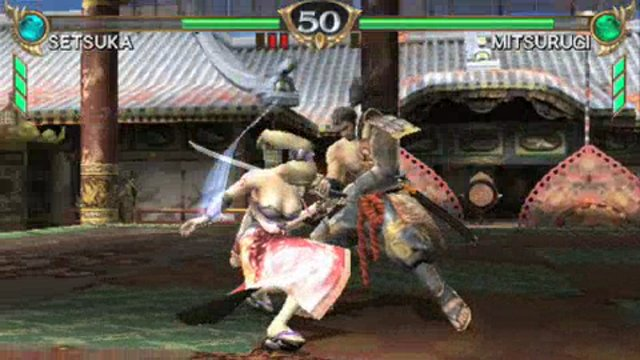 Setsuka vs Mitsurugi