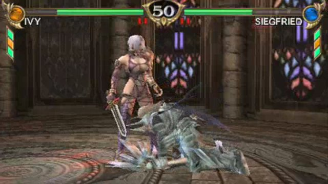 Ivy vs Siegfried