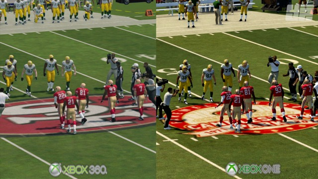 Xbox-One- / Xbox-360-Grafikvergleich