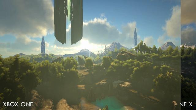 Xbox One vs. Xbox One X