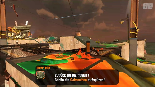 Exklusive Multiplayer-Spielszenen (Salmon Run)