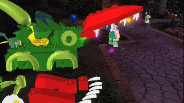 Spielszenen Poison Ivy & Bruce Wayne
