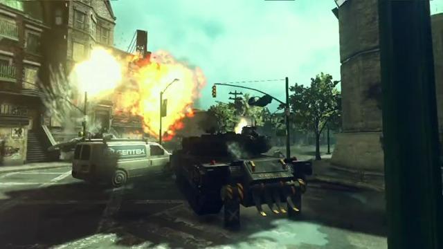 Panzer-Spielszenen