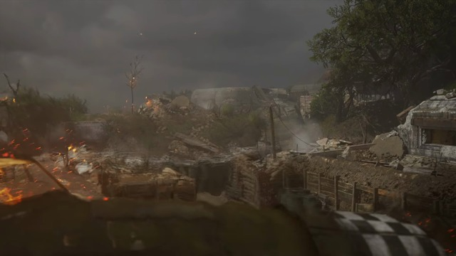 E3 2017: Pointe Du Hoc Multiplayer Map Flythrough