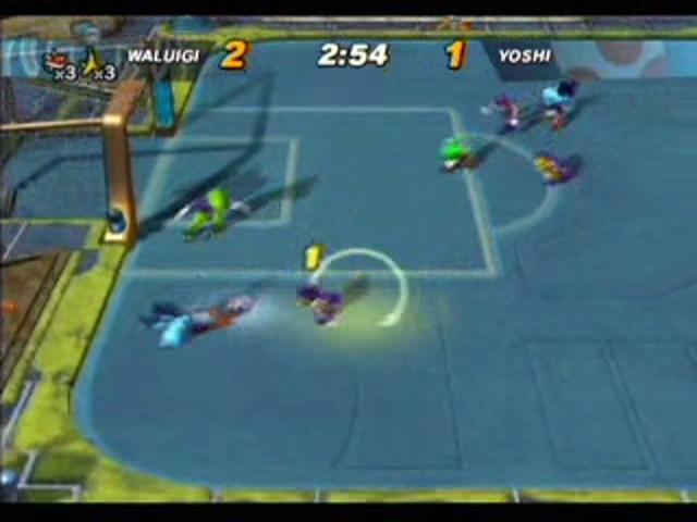 Waluigi vs Yoshi