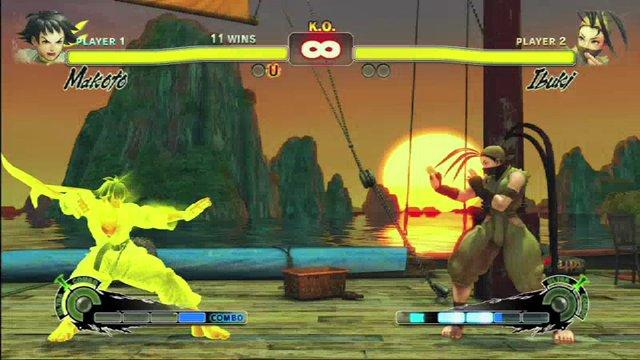 Makoto vs. Ibuki